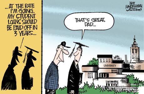 A Student Loan Cartoon To Make You Spit Out Your Coffee Heather Jarvis Student Loan Expert